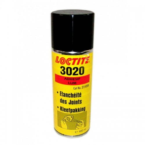 LOCTITE 3020 HIGH TACK SPRAY 400ml SIGILLANTE ADESIVO PER GUARNIZIONI