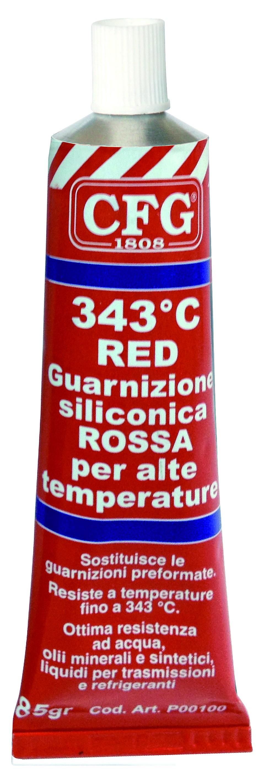 Guarnizione pasta rossa 343/°c