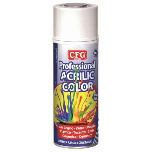 CRC-CFG SA1007 SMALTO ACRILICO GIALLO CROMO 400ml