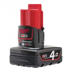 M12B4 MILWAUKEE BATTERIA 12V 4.0AH