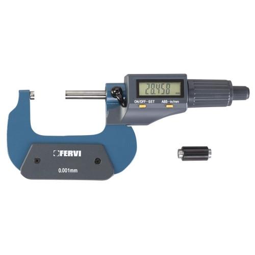 M021/25/50 FERVI MICROMETRO DIGITALE ELETTRONICO