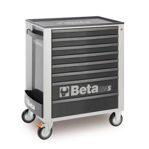 BETA C24S 8/G CASSETTIERA 8 CASSETTI VUOTE GREY C24S 8/G
