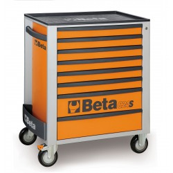 BETA C24S/8O CASSETTIERA 8 CASSETTI VUOTE ORANGE C24S 8/O