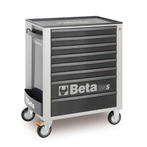 BETA C24S 7/G CASSETTIERA 7 CASSETTI VUOTE GREY C24S 7/G