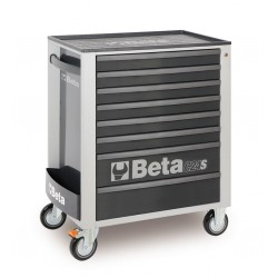 BETA C24S 7/G CASSETTIERA 7 DRAWERS VUOTE GREY C24S 7/G