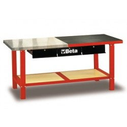 BETA C56M-R MAXI WORKBENCH PIANO ACCIAIO RED C56M-R