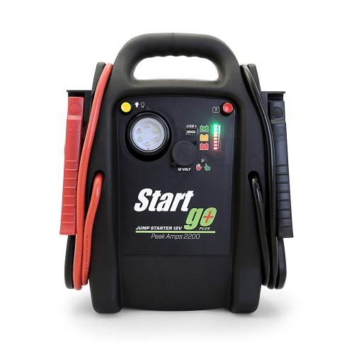 INTEC SG2200 START GO PLUS AVVIATORE D'EMERGENZA 12V 2200 PA
