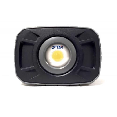 ZETEK KFL110 FARETTO RICARICABILE A LED 10W IP65