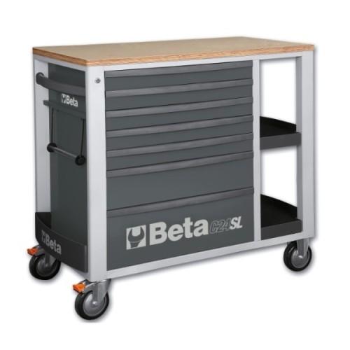 BETA C24SL/G CASSETTIERE VUOTE GREY C24 SL/G