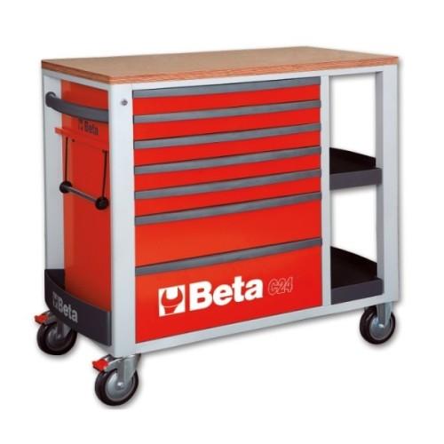 BETA C24 SL/R CASSETTIERE VUOTE RED C24 SL/R