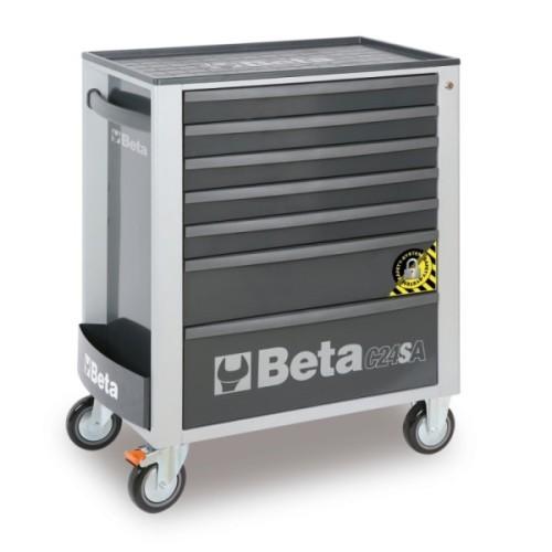 BETA C24SA/7G CASSET.7 DRAW. ANTIRIBALTAMENTO GREY C24SA 7/G