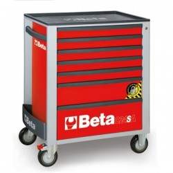 BETA C24SA/7R CASSET.7 DRAW. ANTIRIBALTAMENTO RED C24SA 7/R
