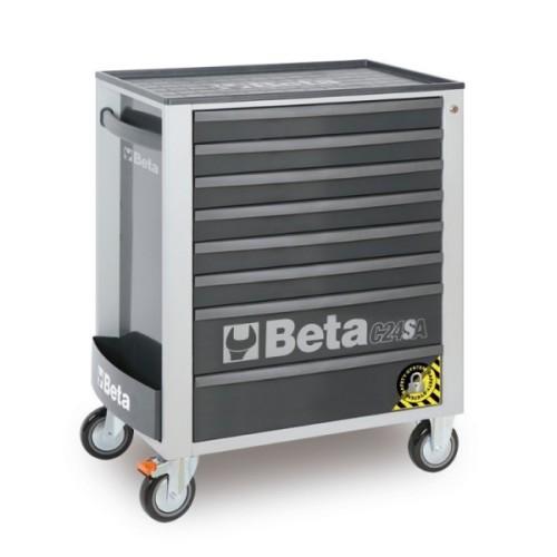 BETA C24SA 8/G CASSET.8 DRAW. ANTIRIBALTAMENTO GREY C24SA 8/G