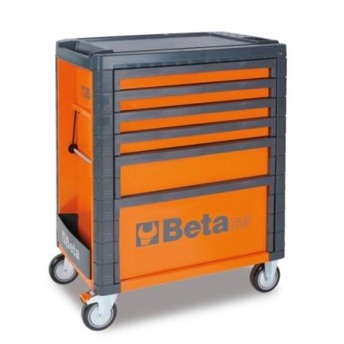 BETA C33 CASSETTIERA MOBILE ARANCIO CON 6 CASSETTI