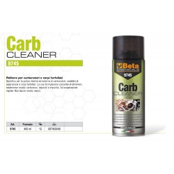 BETA 9745 CARB CLEANER PULITORE SPRAY PER CARBURATORI E CORPI FARFALLATI 400ML