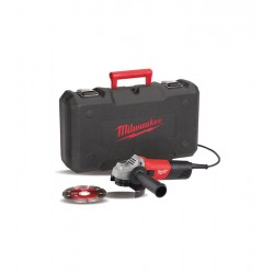 MILWAUKEE AG800E-115 D-SET KIT SMERIGLIATRICE 115MM 800W