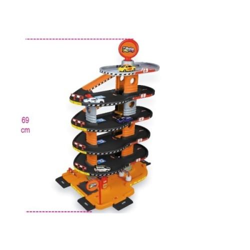 BETA 9548G KINDER GARAGE A 6 PIANI, CON AUTOLAVAGGIO, ASCENSORE E RAMPE