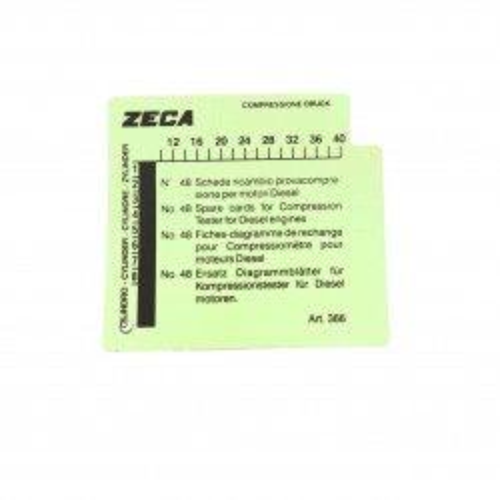 ZECA 366 48 SCHEDE RICAMBIO PER 363