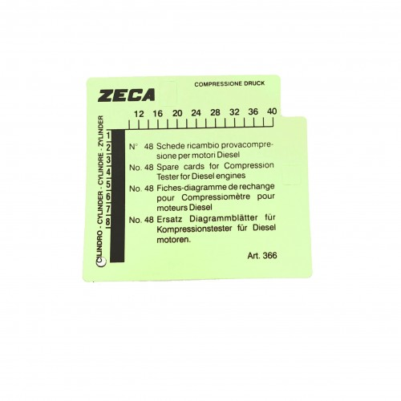 ZE-366 48 SCHEDE RICAMBIO PER 363