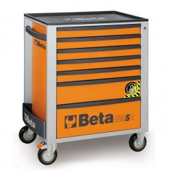BETA C24SA/7O CASSET.7 DRAW. ANTIRIBALTAMENTO ORANGE C24SA 7/O