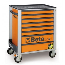 BETA C24SA/8O CASSET.8 DRAW. ANTIRIBALTAMENTO ORANGE C24SA 8/O