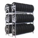 Scaffalature per pneumatici