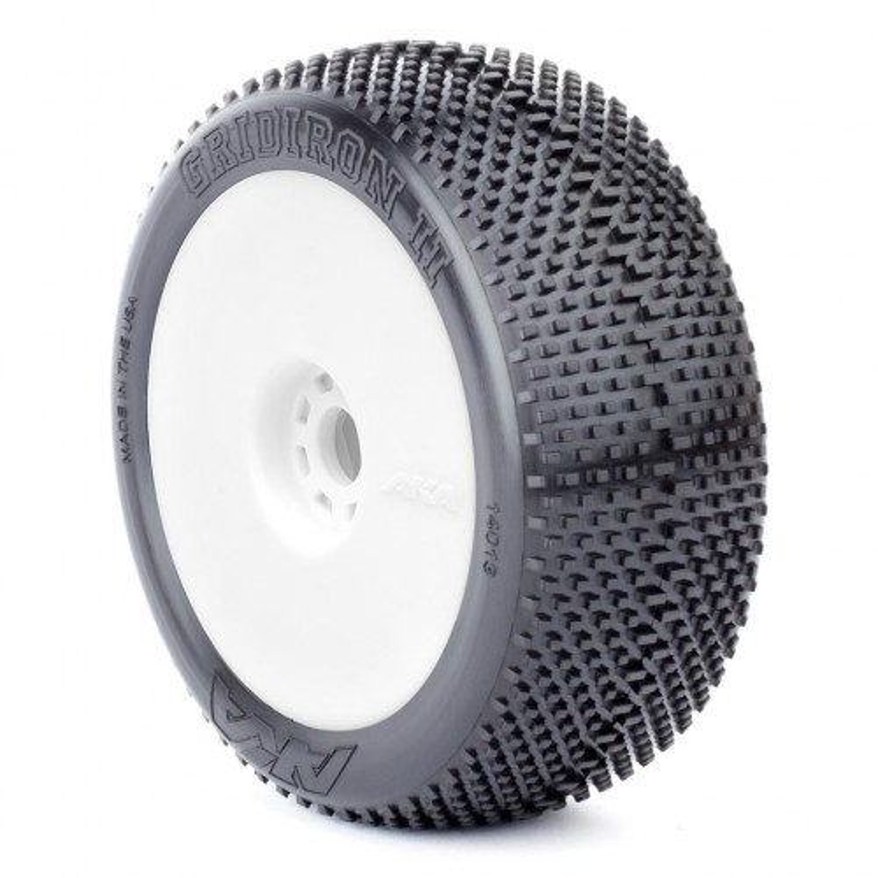 Gomme Buggy 1:8 Grid Iron II Super Soft Long Wear montate su cerchi evo (2)