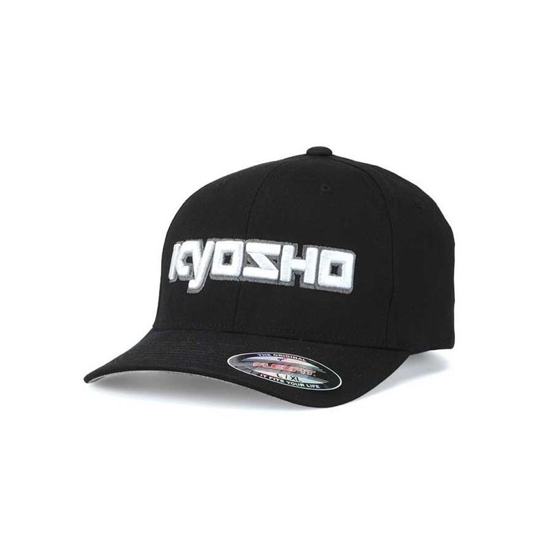 KY-G-KA30001BS Kyosho 3D Cappellino Nero S-M FlexFit