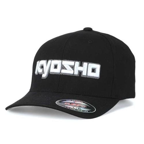 KY-G-KA30001BL Kyosho 3D Cappellino Nero L-XL FlexFit