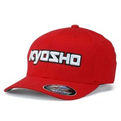 KY-G-KA30001RS Kyosho 3D Cappellino Rosso S-M FlexFit