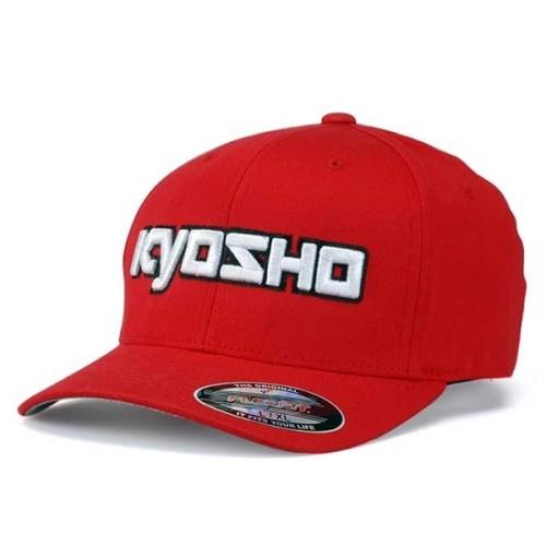 KY-G-KA30001RL Kyosho 3D Cappellino Rosso L-XL FlexFit