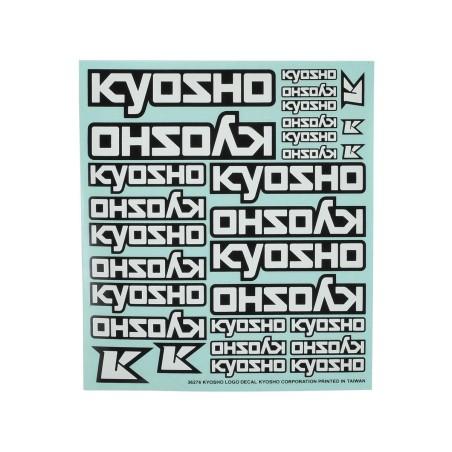 KY-36276 Decals - Kyosho Logo White Bianco