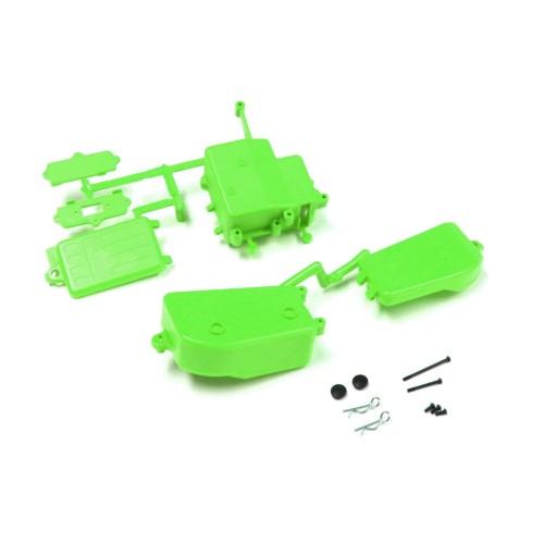 KY-IFF001KG Box Ricevente E Batterie Verde Mp9 Mp10