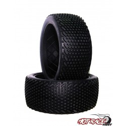 Roma Hard (solo gomma) (1) Gomme Buggy 1:8 Hot Race Tyres