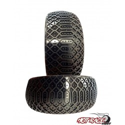 Gomme Buggy 1:8 Sahara Hard (solo gomma) (1) Hot Race Tyres