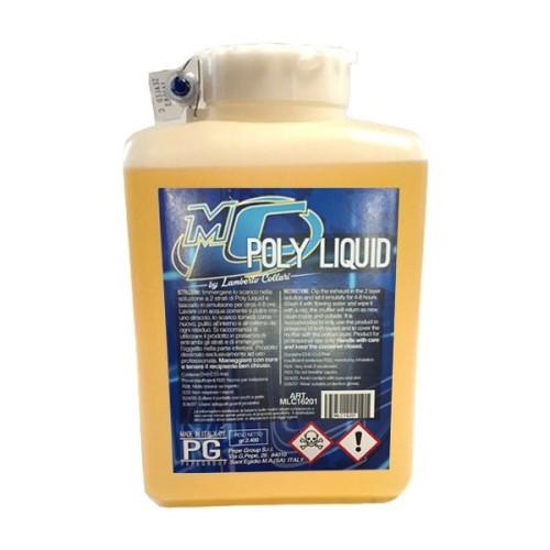 Poly Liquid Detergente Autopulente Per Scarico Marmitte Motore 2400g netto
