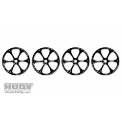 HUDY 108870 ALU SET-UP WHEEL FOR 1/8 OFF-ROAD (4)