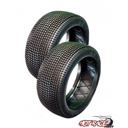 Big Amazzonia Medium (solo gomma) (1) Gomme Buggy 1:8 Hot Race Tyres