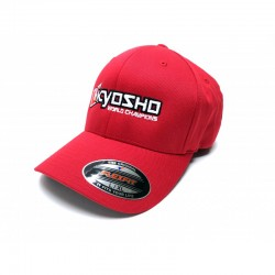 KY-88001R Cappellino Kyosho Flex/Fit Misura L/XL Rosso