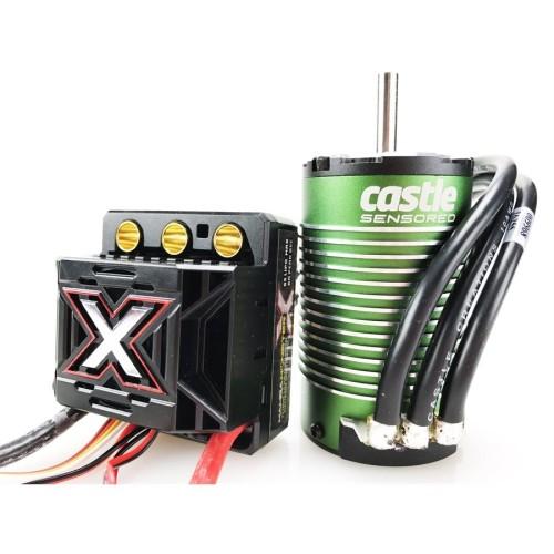 CSE010014505 Combo Regolatore e Motore 1/8 MAMBA Monster X 25.2V ESC, 8A Peak Bec, 1512-1800KV Sensored Motor