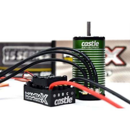 CC010015505 Combo Regolatore e Motore 1/8 MAMBA X 25.2V WP ESC, 1512-2200KV Sensored Motor E-Buggy Edition