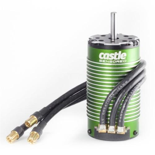 CSE060006300 Motore Castle 1515 Sensored 1/8 Brushless 2200KV Motor Monster