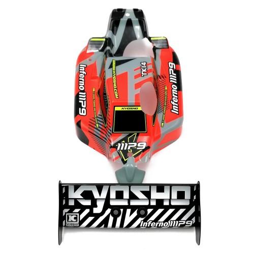 Kyosho carrozzeria ed alettone Mp9 TKI4 V2 RTR