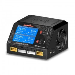 Caricabatterie Ultra Power UP6 Smart Dual Channel AC/DC 400W 10A