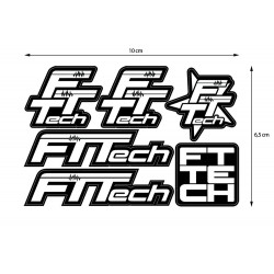 Adesivi FTTech Sticker 6 in 1