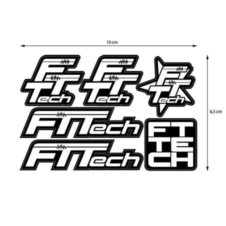 Adesivi FTTech Sticker 6 in 1