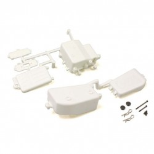 KY-IFF001WB Box Ricevente E Batterie Bianco Mp10