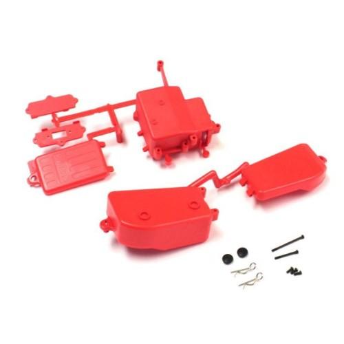 KY-IFF001KRB Box Ricevente E Batterie Rosso Mp10