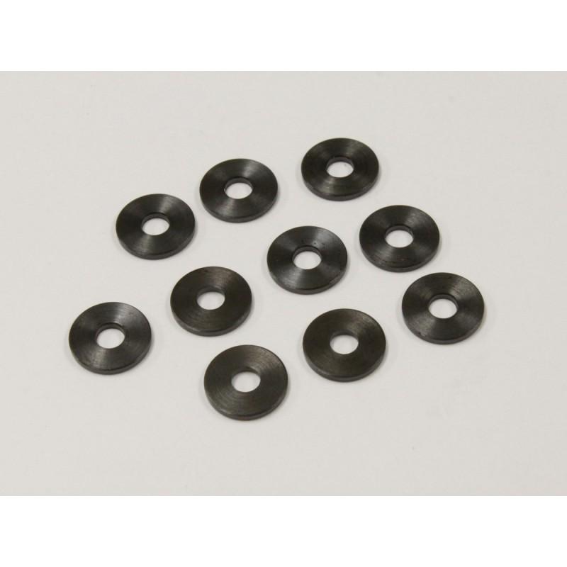 KY-1-W300910 Rondelle M3x9x1.0mm (10)