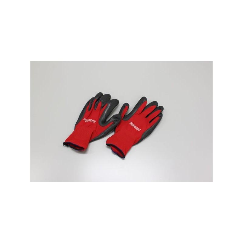 KY-80471L Guanti Pit Glove L, Rosso E Nero